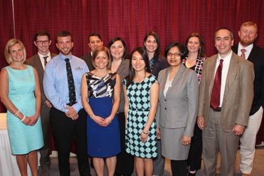 Outstanding departmental recent alumni award winners 2016