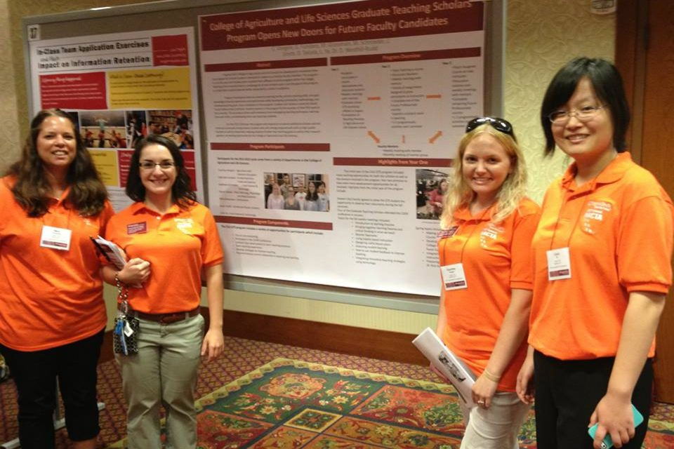 GTS members serve as ambassadors for the 2013 NACTA conference
