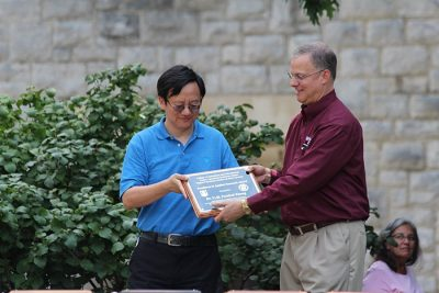 Award for Excellence in Applied Research- Percival Zhang