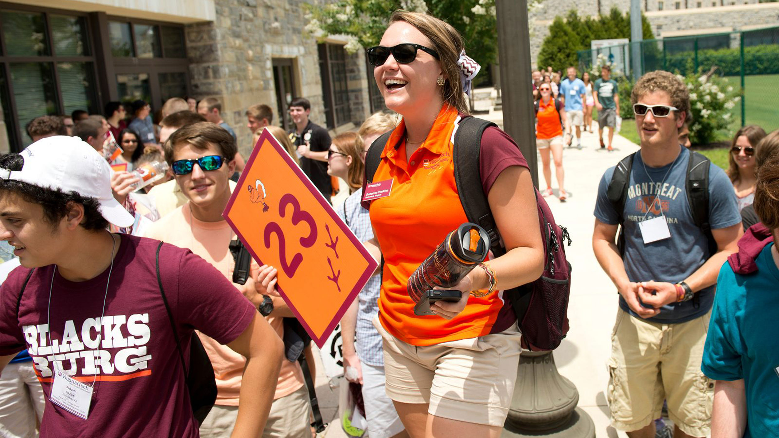 Orientation at Virginia Tech